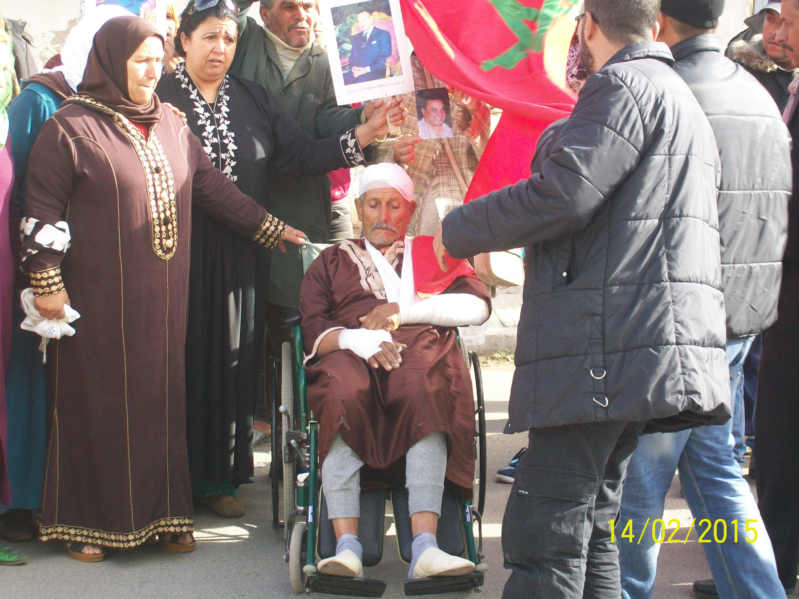 مستشار جماعي بسيدي اعلي بن حمدوش يعتدي على مسن