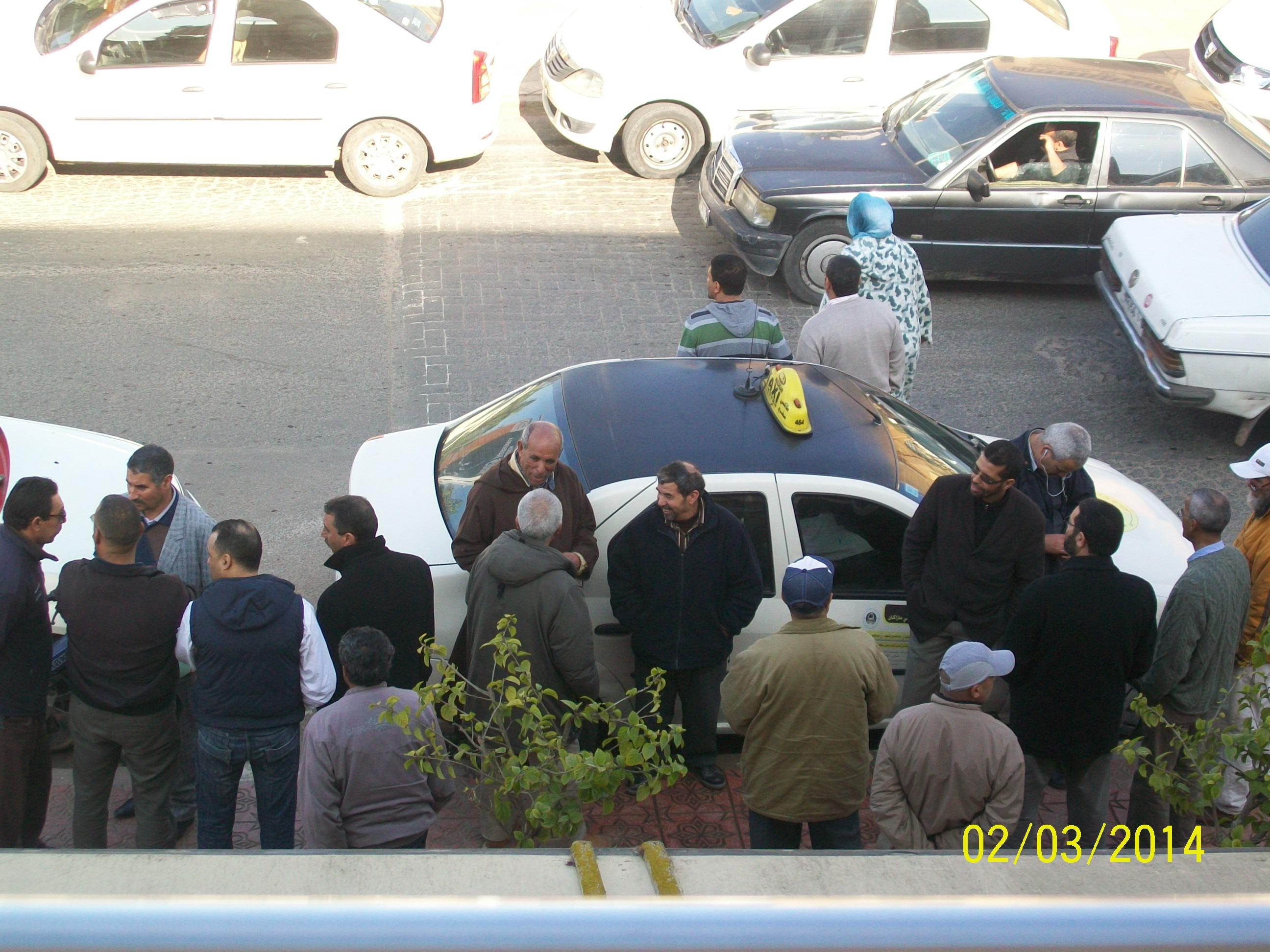 محاكمة سائق طاكسي بعد رفض مالكة المأدونية رقم146 تجديد عقد الكراء.