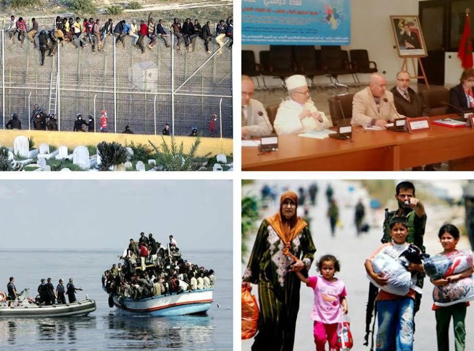 وضع المهاجرين و اللاجئين بالمغرب يوحد الفعاليات الحقوقية و التربوية بالجديدة