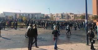 مواجهات عنيفة بالحجارة بين طلبة صحراويين و أبناء حي الداوديات بمراكش