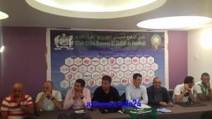 فريق الدفاع الحسني الجديدي يقدم مدربه المقبل جمال السلامي
