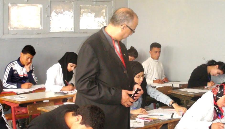 امتحانات البكالوريا بجهة دكالة-عبدة تمر في أول أيامها  في أجواء عادية