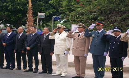 الجديدة:الأنشطة العاملية تزامنا مع احتفالات الشعب المغربي بذكرى عيد العرش