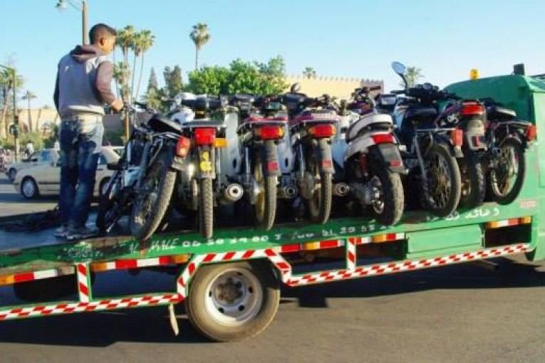 مصادرة 11 دراجة نارية من الحجم الكبير من قبل مصالح الدرك الملكي بالجديدة مزورة