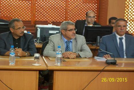 انتخاب السيد محمد الزاهدي رئيسا للمجلس الاقليمي الجديدة