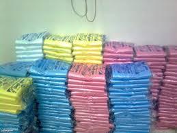 شركة النظافة (سيتا) بالجديدة توزع الأكياس البلاستيكية على جمعيات المجتمع المدنيى للمساهمة في عملية نظافة المدينة يوم العيد