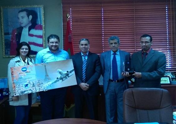 l'Université Chouaib Doukkali a reçu le 1er Prix du Concours « University Challenge Morocco » 2014-2015