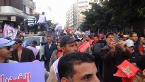 مسيرة نقابية حاشدة اليوم بالدار البيضاء -4 نقابات –