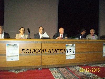 ب ENCG  بالجديدة رئيس الحكومة الجزائرية الأسبق السيد أحمد غزالي في تصريح حصري لجريدتي دكالةميديا24 و الجديدة الآن أثناء مشاركته في مؤتمر دولي  +مداخلات المؤتمرين