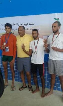 أبطال نادي الجسر الجديدي لرياضة الأشخاص في وضعية إعاقة يتألقون في الألعاب البرالمبية بالربا