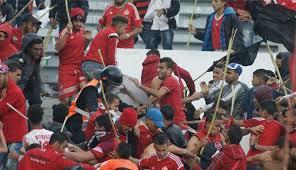 توقيف 43 شخصا متورطا في أفعال اجرامية و أعمال الشغب أثناء مباراة الديربي بين الرجاء و الوداد البيضاويين