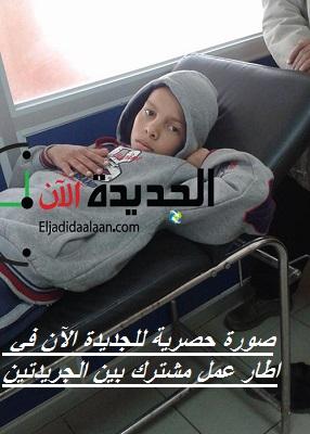 حافلة النقل المدرسي تابعة لجماعة مولاي عبد الله تدهس تلميذا و تصيبه بكسور خطيرة