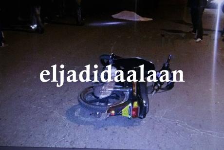 سقط بدراجته النارية س90 في حفرة عجلت بوفاته في عين المكان