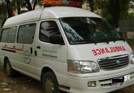 موظف يستغل سيارة اسعاف الجماعة لترويج (النفحة )