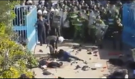 فيديوهات توثق لحظة الهجوم على الأساتذة المتدربين بانزكان و البيضاء