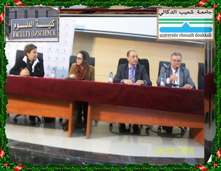 INJAZ AL- MAGHRIB بمدرج كلية العلوم بالجديدة تأطير و تبادل الخبرات حول المقاولة
