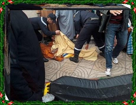 سيدة تسقط جثة هامدة بباب مسجد بوشريط بالجديدة
