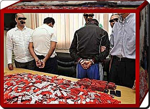 3 مروجين للاقراص المهلوسة و الكوكايين بين يدي الشرطة القضائية