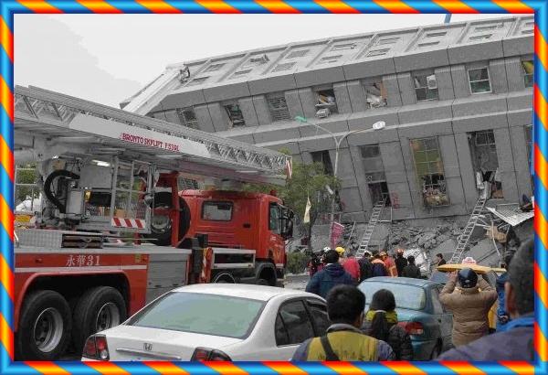 تايوان : قتلى في زلزال عنيف بقوة 6,4 درجات على مقياس ريشتر