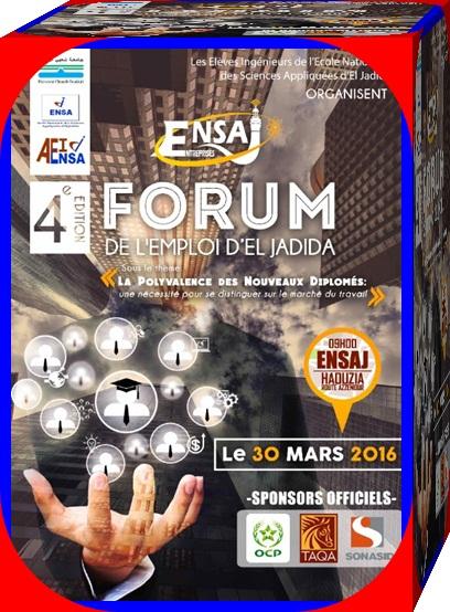 4e édition du Forum ENSAJ – Entreprises 2016