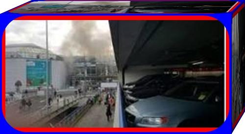 فيديو اللحظات الاولى :تفجيرات ارهابية تصدم البلجيكيين وباقي دول العالم