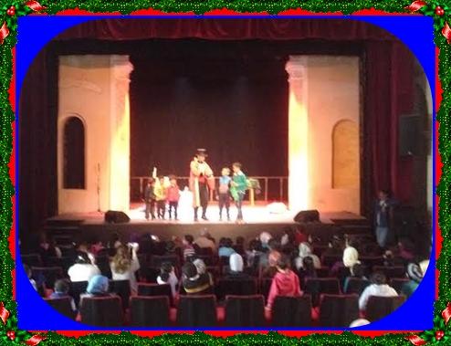 جمعية الأعمال الإجتماعية لموظفي عمالة الجديدة تنظم صبيحة للأطفال بقاعة مسرح الكنيسة