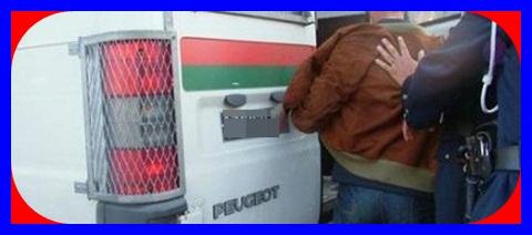 شرطة أزمور تضع حدا لمجرم ضمن عصابة لترويج المخدرات و سرقة السيارات بعد مطاردته
