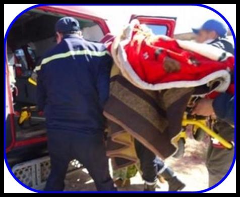 مصرع امرأة وجرح شخصين في حادثة سير بعد أداء عزاء في قريب متوفى