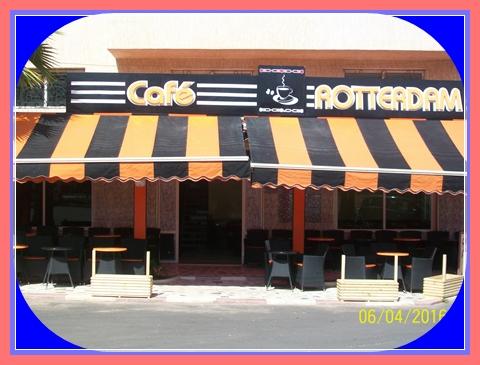 """مقهى روتردام """"ROTTERDAM""""تفتح أبوابها في وجه الزبناء بالنجد 1بمدينة الجديدة"""