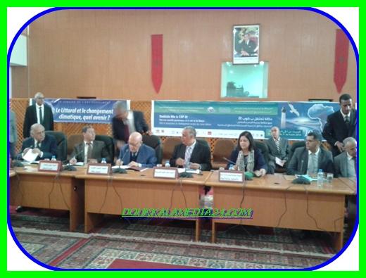 أسبوع البيئة بشراكة بين جمعية دكالة و جامعة شعيب الدكالي بالجديدة