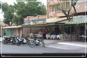 مقاهي طريق سيدي بوزيد تكتسح الأخضر واليابس