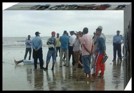 عــــــــاجل : مياه المحيط الأطلسي بالجديدة تلفظ جثة شاب عشريني