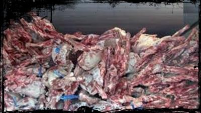 حـجز كمية من اللحوم الفاسدة بموسم مولاي عبد الله