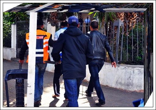 عاجل:الشرطة القضائية تلقي القبض على قاتل حي النجد بااجديدة