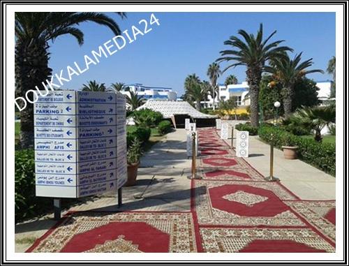 Sous le Haut Patronage de Sa Majesté le Roi Mohammed VI Congrès Africain de Biologie et de la Conservation et les Changements Climatiques El Jadida-Maroc