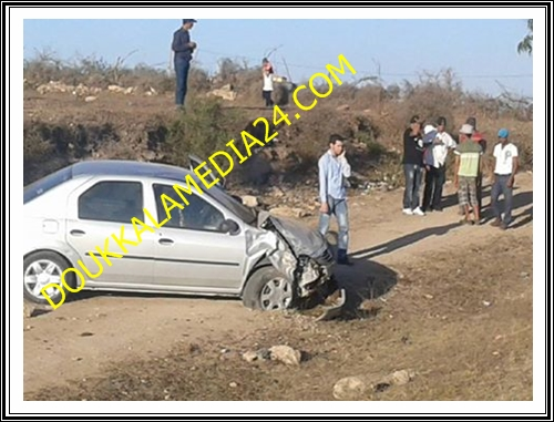 حادثة سير بين اشتوكة و ازمور لم تخلف ضحايا
