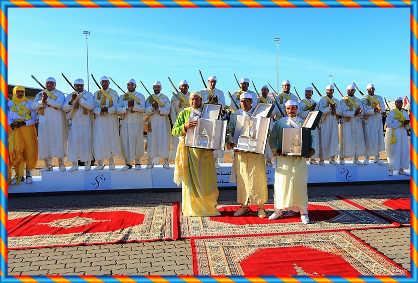 الدار البيضاء – سطات تفوز بالجائزة الكبرى لصاحب الجلالة الملك محمد السادس للتبوريدة  بمعرض الفرس بالجديدة
