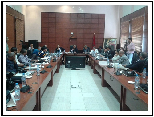 جامعة شعيب الدكالي تعقد ندوة صحفية لاطلاع الرأي العام على مستجدات الدخول الجامعي 2017/2016