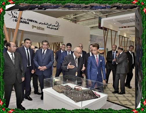 الأمير مولاي الحسن يفتتح الدورة التاسعة لمعرض الفرس بالجديدة