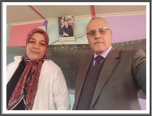 التفاتة عرفان وتقدير من المدير الإقليمي للتعليم بسيدي بنور تجاه مبادرة أستاذة في تأهيل وحدة مدرسية
