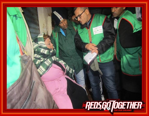 حملة جمع المشردين والأشخاص بدون مأوى من شوارع إقليم الجديدة
