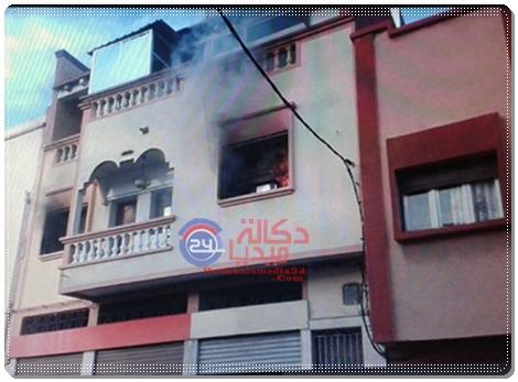الجديدة:شاحن هاتف نقال يتسبب في اندلاع حريق في شقة بدرب غلف
