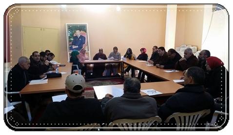 الجبهة الإقليمية للدفاع عن  التعليم العمومي بسيدي بنور تعقد لقاءها التشاوري الثاني