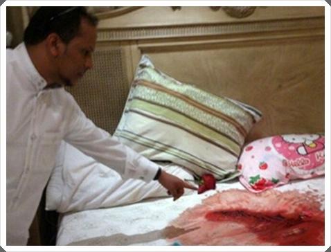 سيدة تجردت من أمومتها لتذبح صغيرتها ذات 10 أشهر