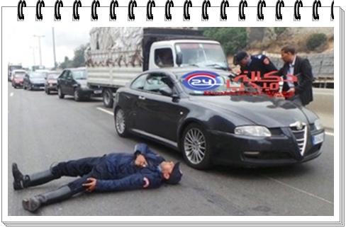 الجديدة عاجل:وفاة شرطي صدمه طالب جامعي كان يقود سيارة