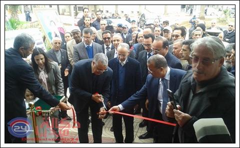 افتتاح قاعة نجيب النعامي للرياضات الجماعية بعد الهيكلة الجديدة