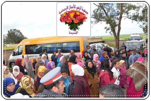 جمعية الزهور تنظم قافلة طبية بأولاد حمدان