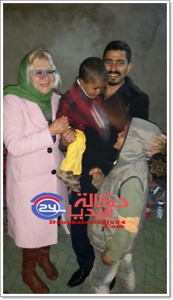 سيدي بنور:معاناة مزدوجة أم تغتصب باستمرار أطفالها يعانون قساوة العيش و المرض