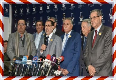 الملك يعين حكومة سعد الدين العثماني الجديدة