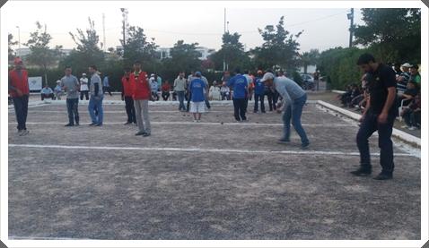 النادي الرياضي للكهربائيين بسوس يفوز بدوري الكرة الحديدية